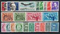 Norge - Årgang 1962 - Postfrisk