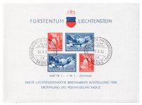Liechtenstein 1936 - MICHEL BL/2 - Stemplet