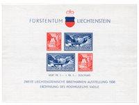 Liechtenstein 1936 - MICHEL BL/2 - Postfrisk