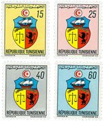 Tunesien -  YT  666-69 - Postfrisk