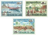 Laos 1967 - YT 146-48 - Postfrisk