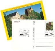 Åland - Kastelholm Slot - Postkort med specielt stempel