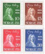 Norge 1934 - AFA 167/170 - Postfrisk