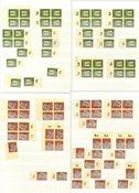 Tyskland - Flot samling i 1 mindre indstiksbog - Postfrisk