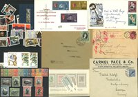 Malta - Samling af frimærker, førstedagskuverter og souvenirmapper - Postfrisk