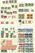 Berlin - Flot samling i 1 tyk indstiksbog - Stemplet