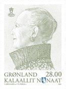Groenland - Reine Margrethe - Timbre neuf