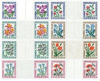 Frankrig YT Portomærker 95-102 parstk. m/interval