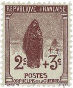 Frankrig 1917 - YT 148 - Ubrugt