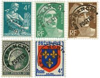 Frankrig -  YT PO89+ 95 + 98 + 105 + 106 + 212 - Forudannulleret