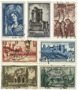 Francia 1938 - YT 388-94 - Usado