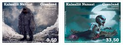 Spøgelseshistorier i Grønland II - Postfrisk - Sæt