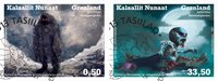 Spøgelseshistorier i Grønland II - Førstedagsstemplet - Sæt