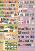 EUROPA - Samling i indstikskort - Postfrisk