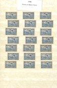 Franske kolonier 1938 - 21 forskellige frimærker -  Ubrugt