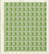 Danmark 1940 - Helark AFA 257a - Postfrisk