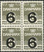 Danmark - 4-blok AFA 262a - Postfrisk