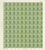 Danmark 1940 - Helark AFA 257 + 257y i position 32  - Postfrisk