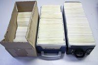 Finland - Samling i 3 kartotekskasser AFA 14-1989 - Stemplet