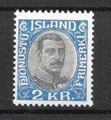 Island - Tj. 60 - Postfrisk