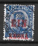 Islanti - AFA 121 - Leimattu