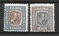 Islanti - AFA 60 -61 - Käyttämätön liimakkeella