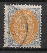 Danmark - AFA 31 - Stemplet