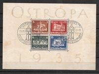 Tyske Rige 1935 - AFA 571-74 - Stemplet