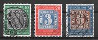 Alemania Occidental 1949 - AFA 1076-78 - Usado