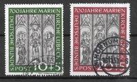 Alemania Occidental 1951 - AFA 1102-03 - Usado