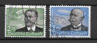 Tyske Rige 1934 - AFA 533 +534 - Stemplet