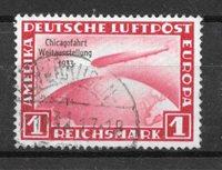 Tyske Rige 1933 - AFA 491 - Stemplet