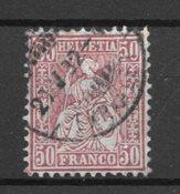 Schweiz 1881 - AFA 56 - Stemplet