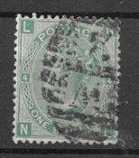 Englanti 1867 - AFA 27 - Leimattu
