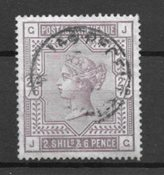 Englanti 1902 - AFA 82 - Leimattu