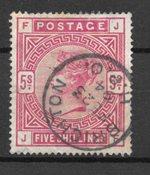 Englanti 1902 - AFA 83 - Leimattu