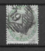 Englanti 1855 - AFA 15 - Leimattu