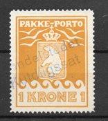 Grönlanti 1930 - Pakettipostit 11 - Leimattu