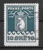 Grönlanti 1915 - Pakettileimat 7 - Leimattu