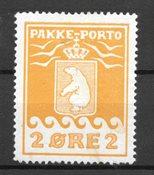 Grönlanti 1915 - Packetimarjat 5 - Kättämätön Liimakkeella