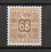 Danmark 1907 - AV. AFA 7 - Ubrugt