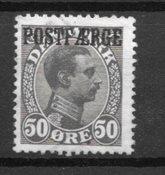 Danmark 1920 - AFA PF 7 - Stemplet