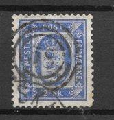 Danmark 1871 - AFA Tj. 1 - Stemplet