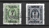 Danmark 1926 - AFA 163 + 166 - Stemplet