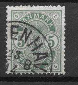 Danmark 1882 - AFA 32 - Stemplet