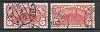 Danimarca 1912 - AFA 67 + 81 - timbrato