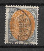 Danmark 1875 - AFA 31 - Stemplet