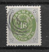 Danmark 1870 - AFA 20 - Stemplet