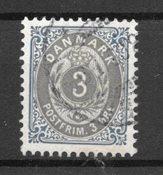 Danmark 1902 - AFA 22 Cy - Stemplet