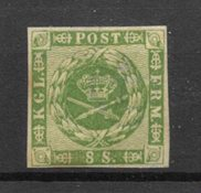 Danmark 1858 - AFA 8 - Ubrugt